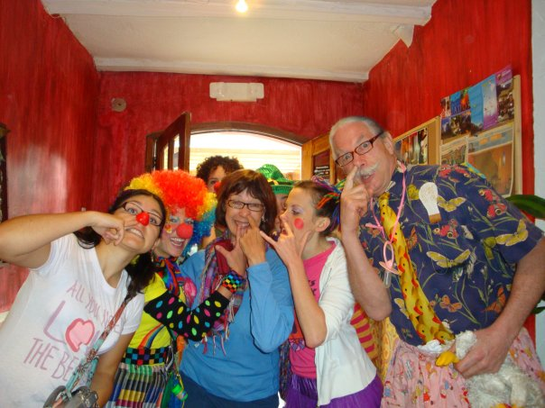 Ecuador:Go!Clown With Patch Adams